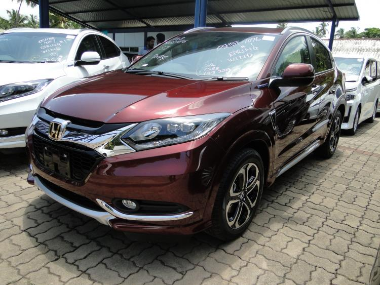 Honda Vezel Z Grade 2014 Mahesh Corporation